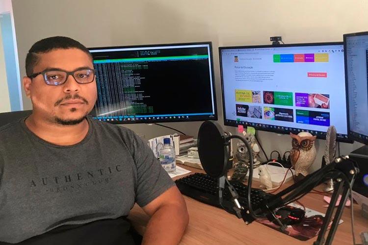 Brumado: Programador explica funções do Sistema de Gestão Escolar Bravo para o retorno às aulas remotas