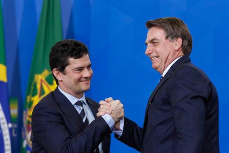 De vice dos sonhos, Moro pode virar adversário de Bolsonaro em 2022