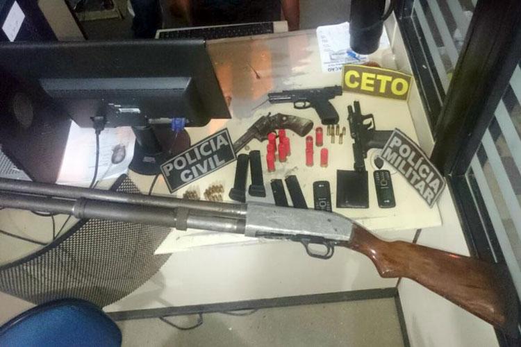Seis pessoas suspeitas de integrar facção criminosa são presas em Guanambi