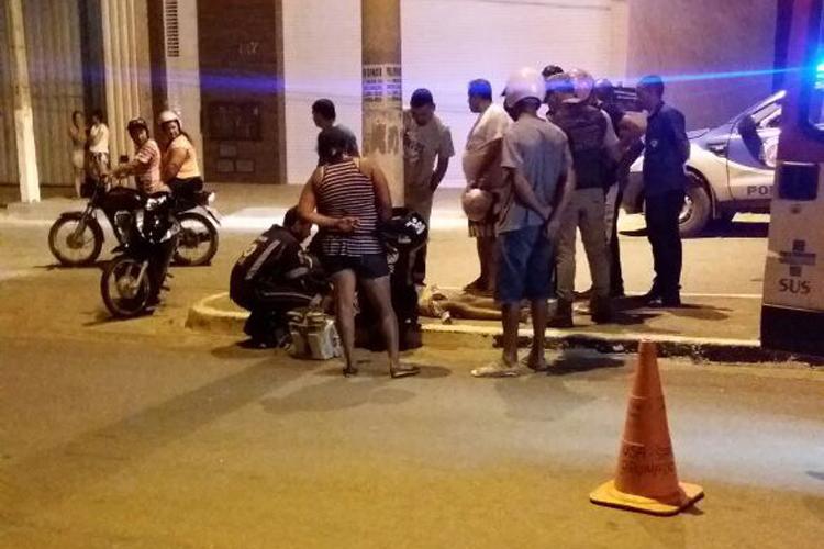 Homem colide moto contra poste e morre na BA-148 em Brumado