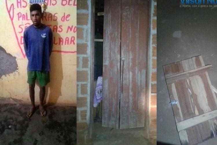 Homem é preso após promover quebra-quebra em casa de vereador em Palmas de Monte Alto