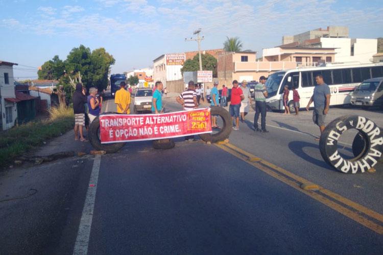 Brumado: Motoristas defendem que lei vai penalizar pais de família e beneficiar grandes empresas