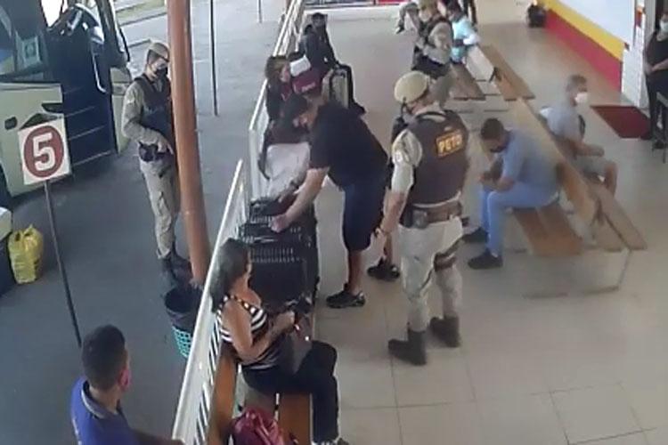 Brumado: Imagens de monitoramento ajudam polícia a concluir investigações sobre apreensão de drogas