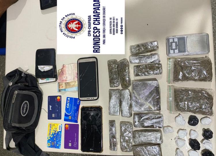 Rondesp Chapada localiza maconha e cocaína em Mucugê