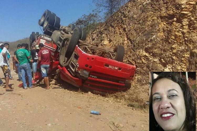 Igaporã: Professora morre presa às ferragens em acidente na BR-430