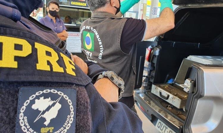 Polícia acha indícios de adulteração em combustíveis em Morro do Chapéu