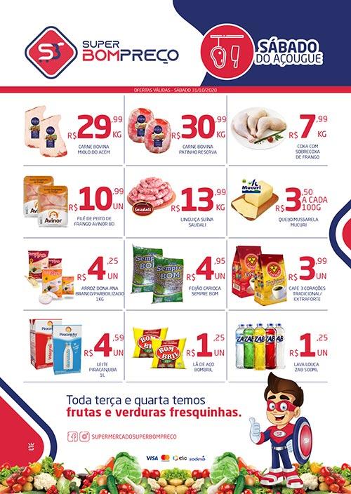Confira as promoções no 'Sábado do Açougue' no Supermercado Super Bom Preço em Brumado