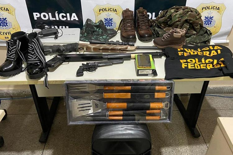 Suspeito de roubo, falso delegado da Polícia Federal é preso em Paulo Afonso