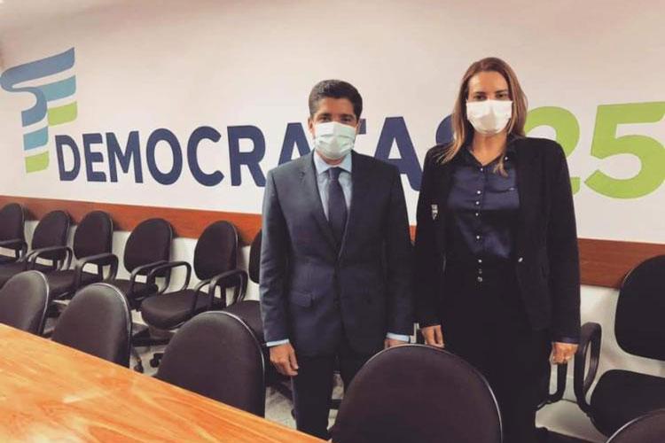 Prefeita de Vitória da Conquista diz que vai continuar no DEM e apoia ACM Neto em 2022