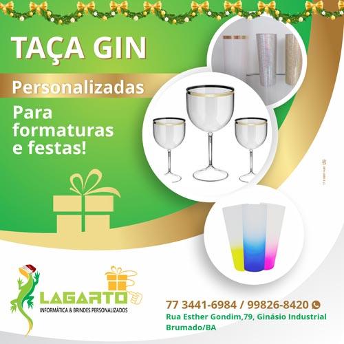 Encomende os seus brindes personalizados para as festas de fim de ano na Lagarto em Brumado
