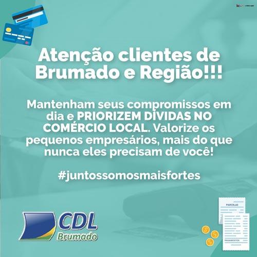 CDL pede que consumidores valorizem e priorizem dívidas no comércio de Brumado e região