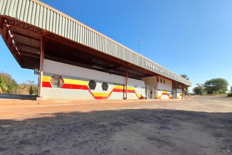 Já liberado, terminal rodoviário de Brumado ainda está sem movimentação de passageiros
