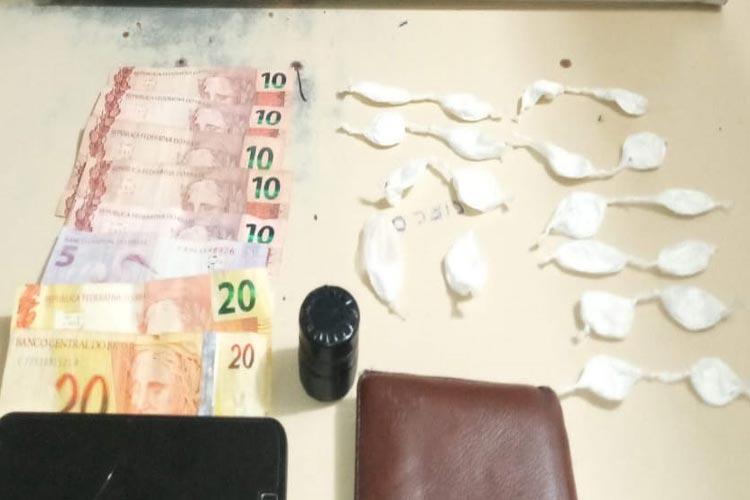 Homem é preso com drogas na cidade de Paramirim