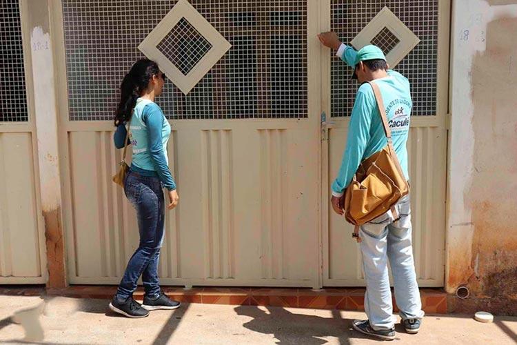 Agentes de endemias fazem mutirão de combate ao mosquito da dengue em Caculé
