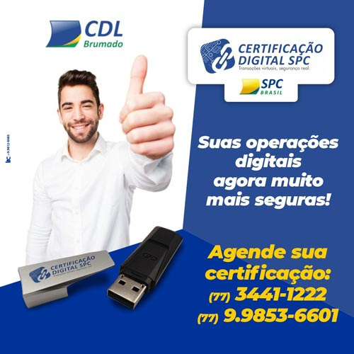 CDL realiza certificação digital através de agendamentos em Brumado