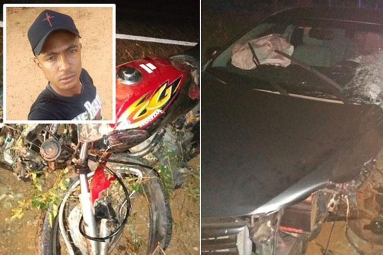 Jovem de 21 anos morre em acidente na BA-152 em Livramento de Nossa Senhora