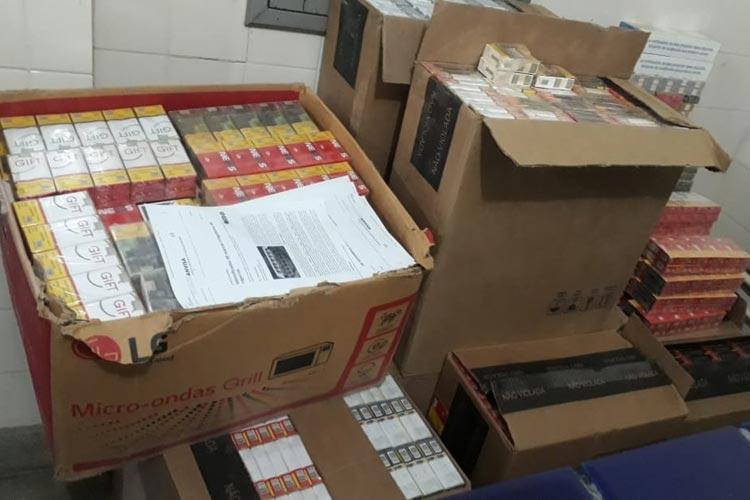 Rio do Antônio: Cigarros contrabandeados são apreendidos pela PRE no distrito de Ibitira