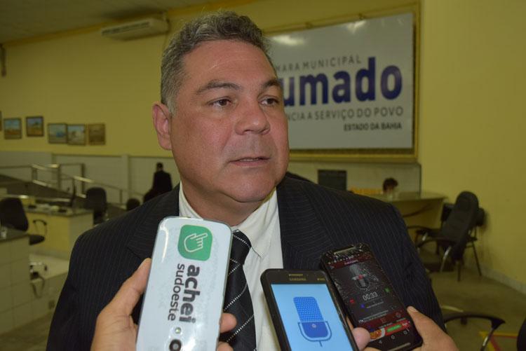 Presidente da Câmara de Brumado revela desejo de ser prefeito de sua terra natal