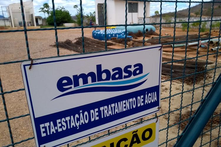 Embasa: Manutenção preventiva suspende abastecimento em Brumado e Malhada de Pedras