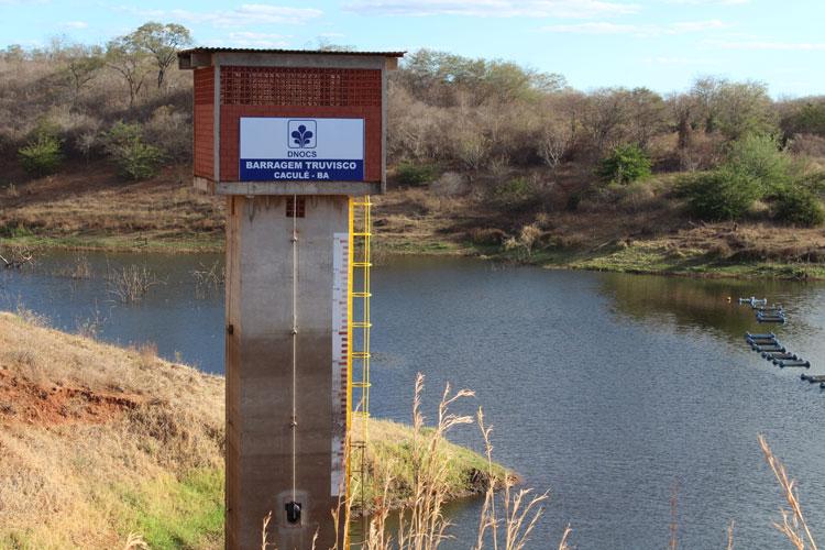 Caculé: Mesmo com as boas chuvas, nível das barragens do Truvisco e Comocochico está abaixo do ideal