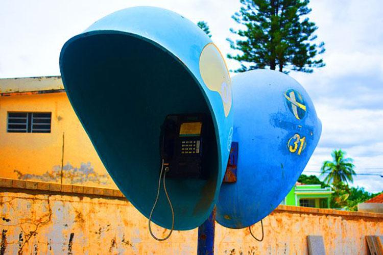 Orelhões são retirados das ruas da cidade de Caculé