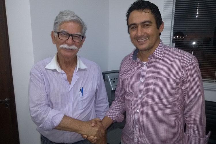 Brumado: Márcio Moreira recebe bênção do prefeito e apoio de vereadores rumo à AL-BA