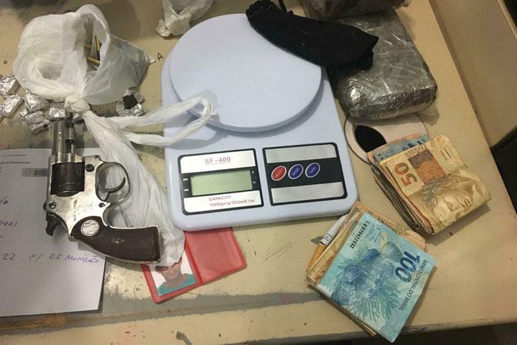 Casal é preso suspeito de tráfico de drogas na cidade de Lagoa Real