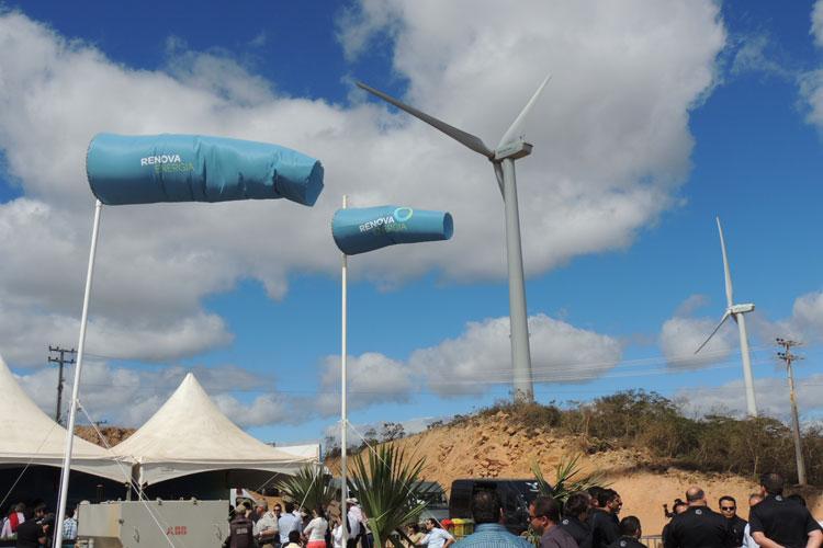 Caetité: Obras do Alto Sertão III serão retomadas pela Renova Energia