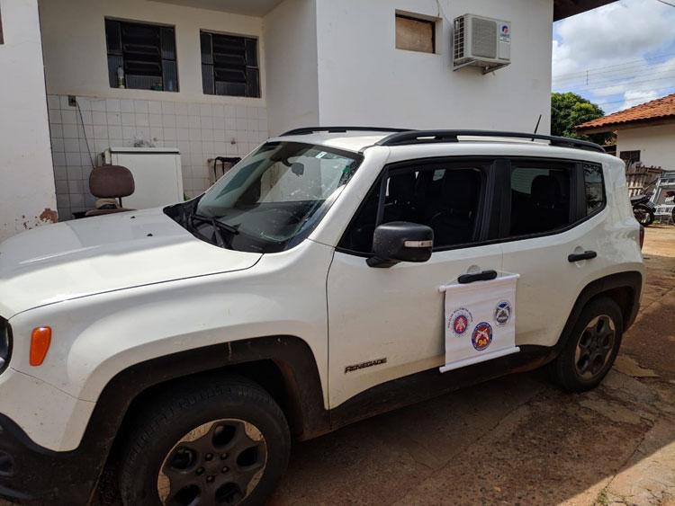 Veículo com restrição de furto é conduzido à delegacia em Caculé