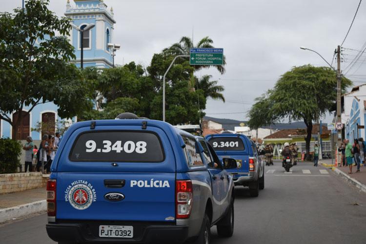 34ª CIPM inicia 'Operação Natal em Paz' em Brumado e região