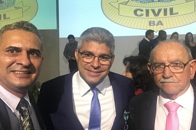 Delegado aposentado que já atuou em Brumado recebe Medalha do Mérito Policial Civil
