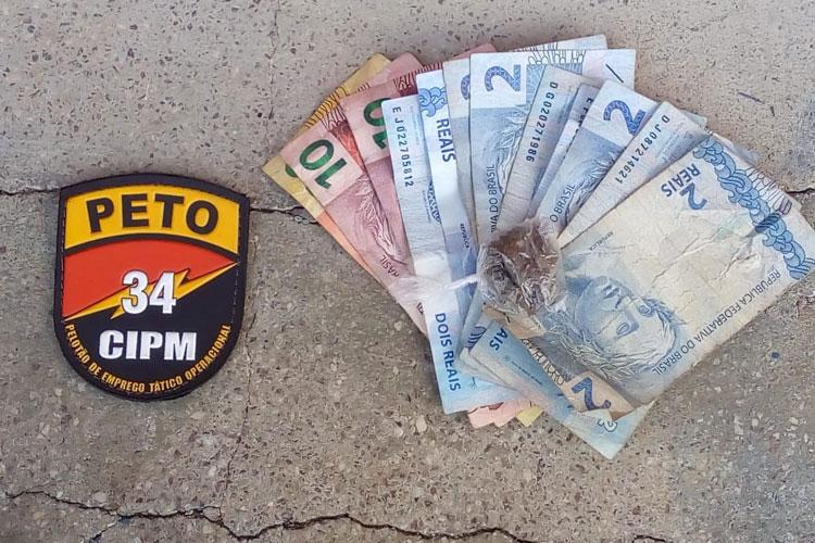 Dupla é presa após roubar dinheiro de vítima nas proximidades do Hospital Municipal em Brumado
