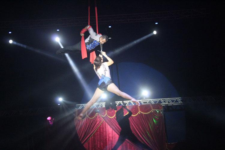 Circo Mundo Mágico é sucesso de público em Brumado