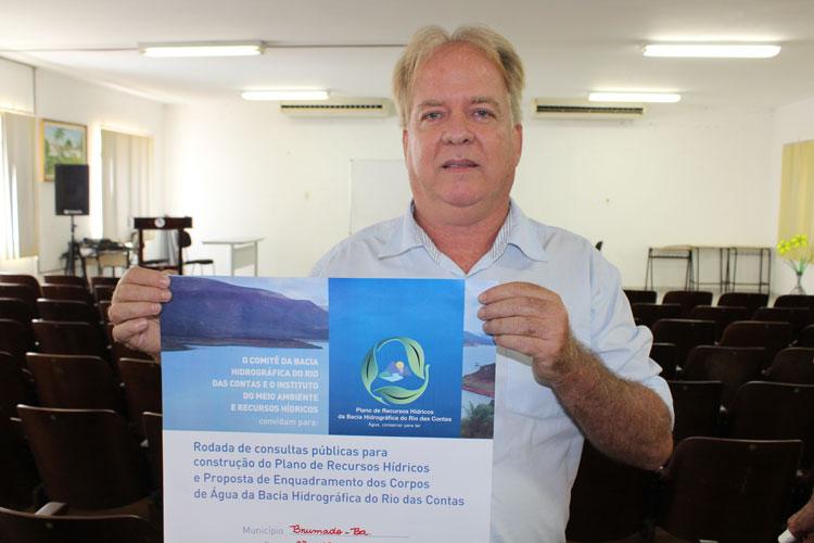 Comitê da Bacia do Rio das Contas fará consulta pública em Brumado