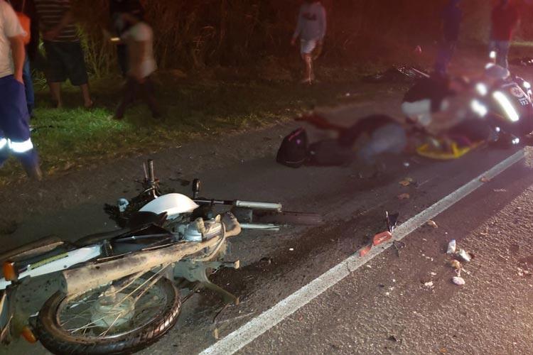 Vitória da Conquista: Três morrem após colisão entre carro e motocicletas na BA-262
