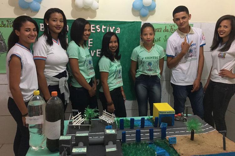 Barra da Estiva: Alunos do Colégio Estadual Getúlio Vargas promovem Feira de Ciências