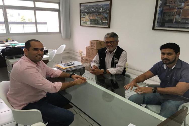 Secretaria de saúde e Adab firmam parceria em prol da segurança alimentar da população de Brumado