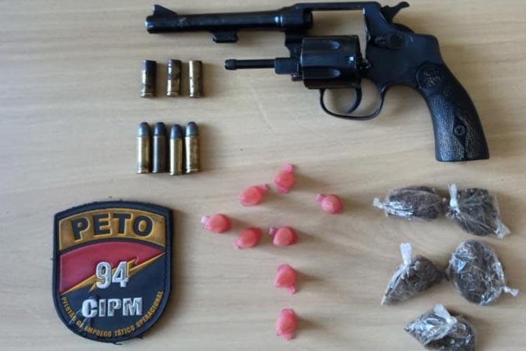 Matador do tráfico resiste à prisão e é baleado em cerco da polícia em Caetité