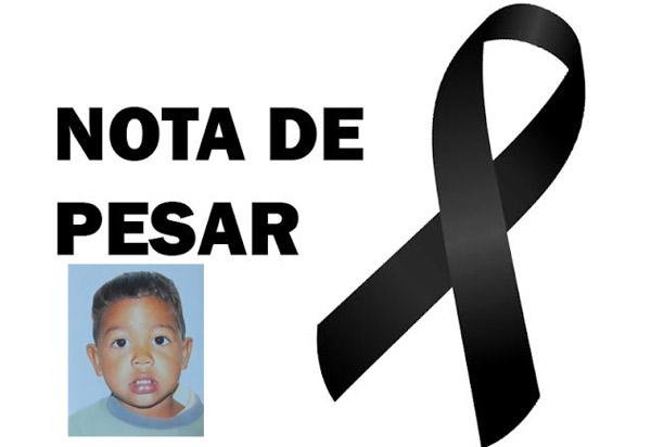 Prefeitura de Brumado emite nota de pesar em razão do falecimento do pequeno Vítor Maciel