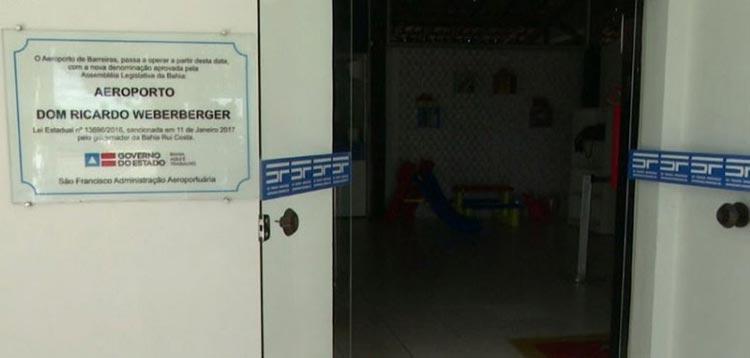 Coronavírus: Após quase quatro meses, aeroporto de Barreiras é reaberto