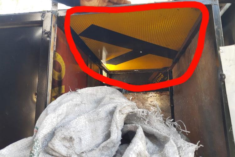 Brumado: Furtadas, placas do DNIT foram usadas para construir carrinho de espetinho
