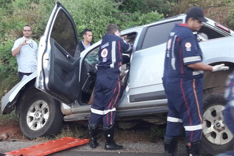 Brumado: Advogado Givanei Lima Dias sofre grave acidente na BA-148
