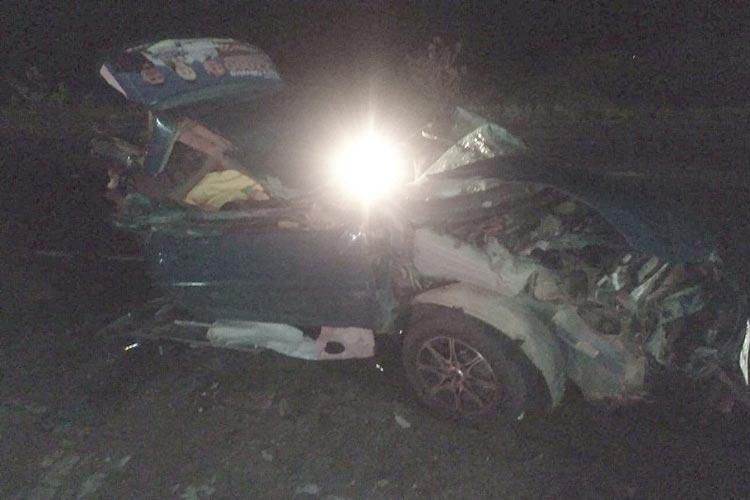 BA-148: Um morre e dois ficam feridos em acidente no Distrito de Fazendinha em Dom Basílio