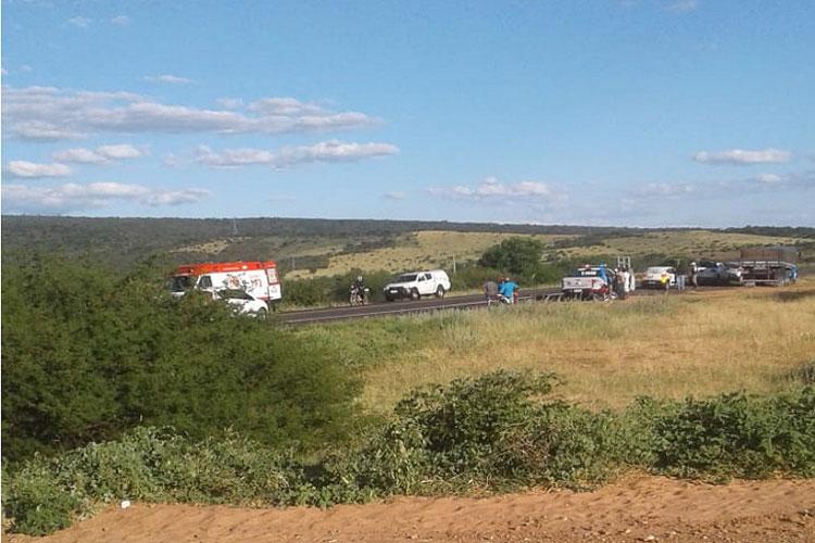 Brumado: Idoso morre atropelado ao tentar atravessar BA-262 a pé