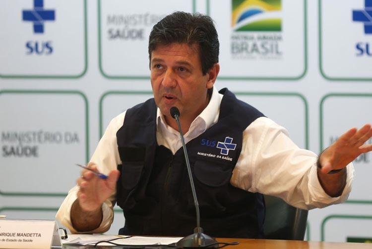 Covid-19: Ministro da saúde reforça a necessidade de isolamento social