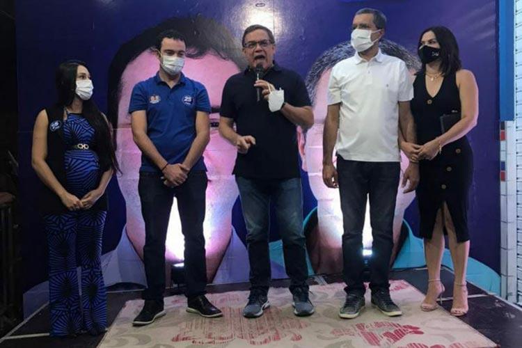 Eleições 2020: Fabrício Abrantes inaugura comitê em Brumado