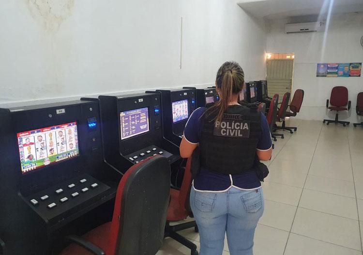 Cassino clandestino e casa de apostas são desativados no norte da Bahia