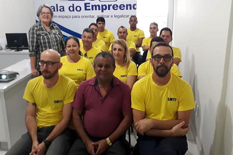 Prefeitura de Brumado inicia treinamento com equipe de trânsito do município