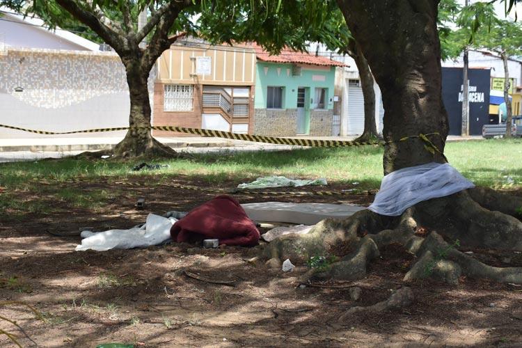 Homem em situação de rua é morto a pedradas em Vitória da Conquista