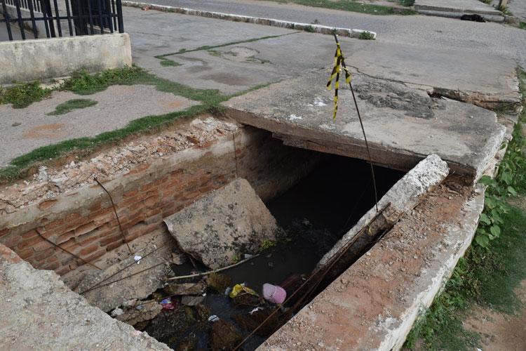 Brumado: Prefeitura substituirá galeria de esgoto no Bairro Dr. Juracy